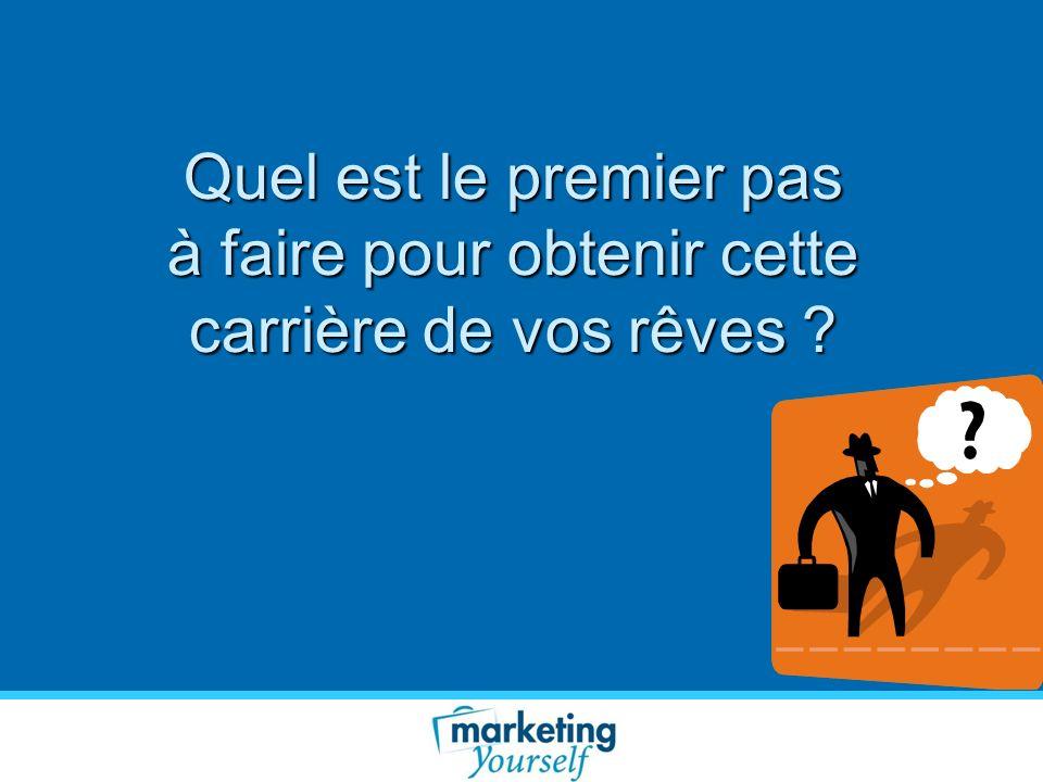 Objectifs Marketing Quel type de carrière souhaitez-vous .