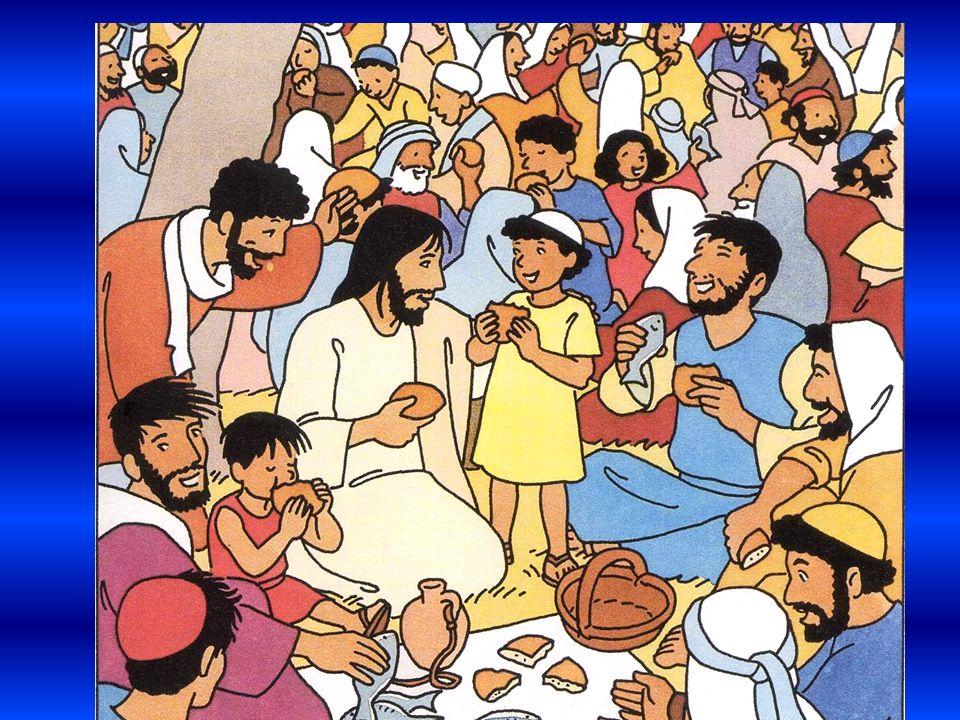 Et quand tout le monde a bien mangé, Jésus dit :