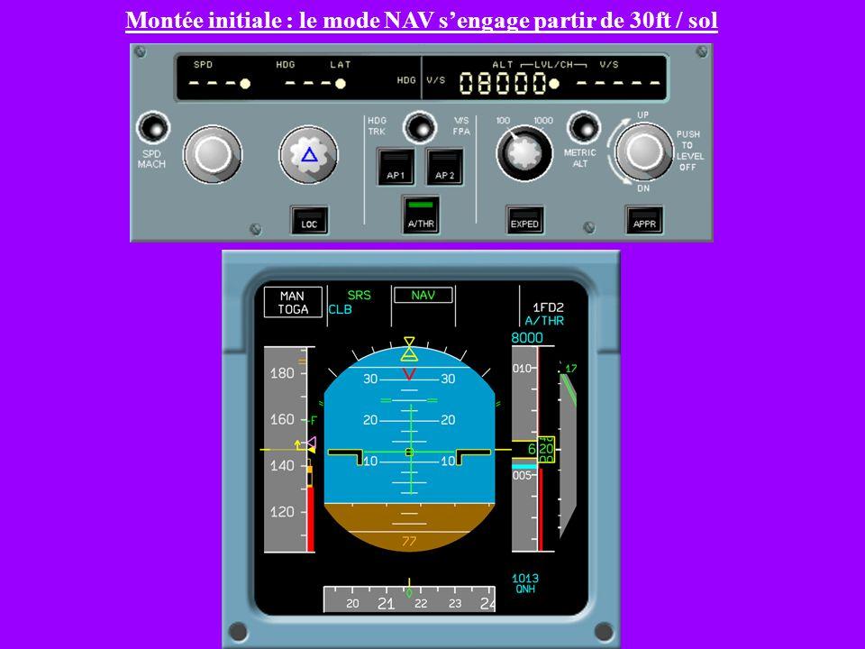 SRS : Maintien de V2+10 (N moteurs) ou V2 (N-1 moteurs)