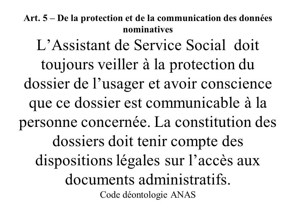 Délais de libre consultation à tous des dossiers archivés art L 213-2 code du patrimoine (loi 15/07/2008) 1/ ce qui était en libre consultation avant