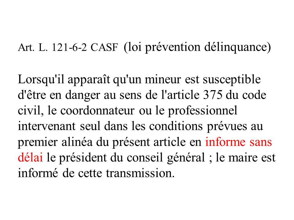 Rappel du 226-2-2 : conditions au partage de linformation 1- une possibilité, pas une obligation 2- entre personnes participant à la même mission de p