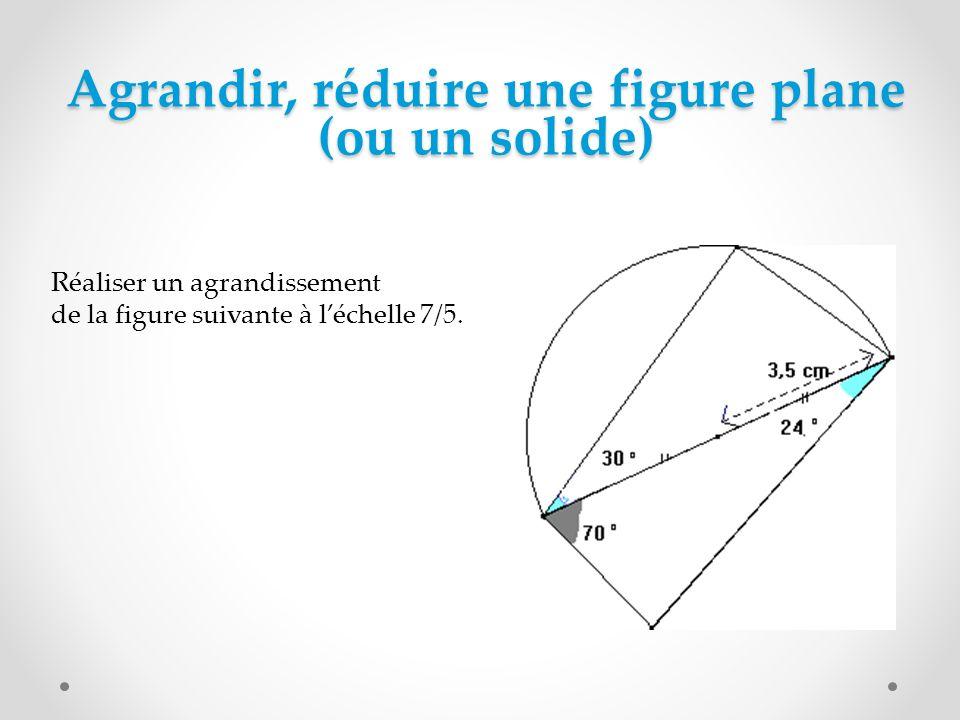 Construire, compléter une figure plane (ou un solide) A partir dun programme de construction Tracer un cercle de centre O et de rayon 3 cm.