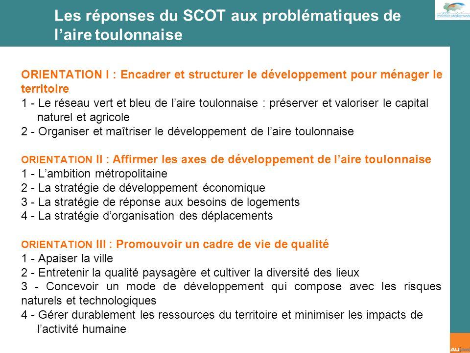 2 e forum citoyen - 7 juillet 2007 Proposition dobjectif I… Orientation 1 : Encadrer et structurer le développement pour ménager le territoire