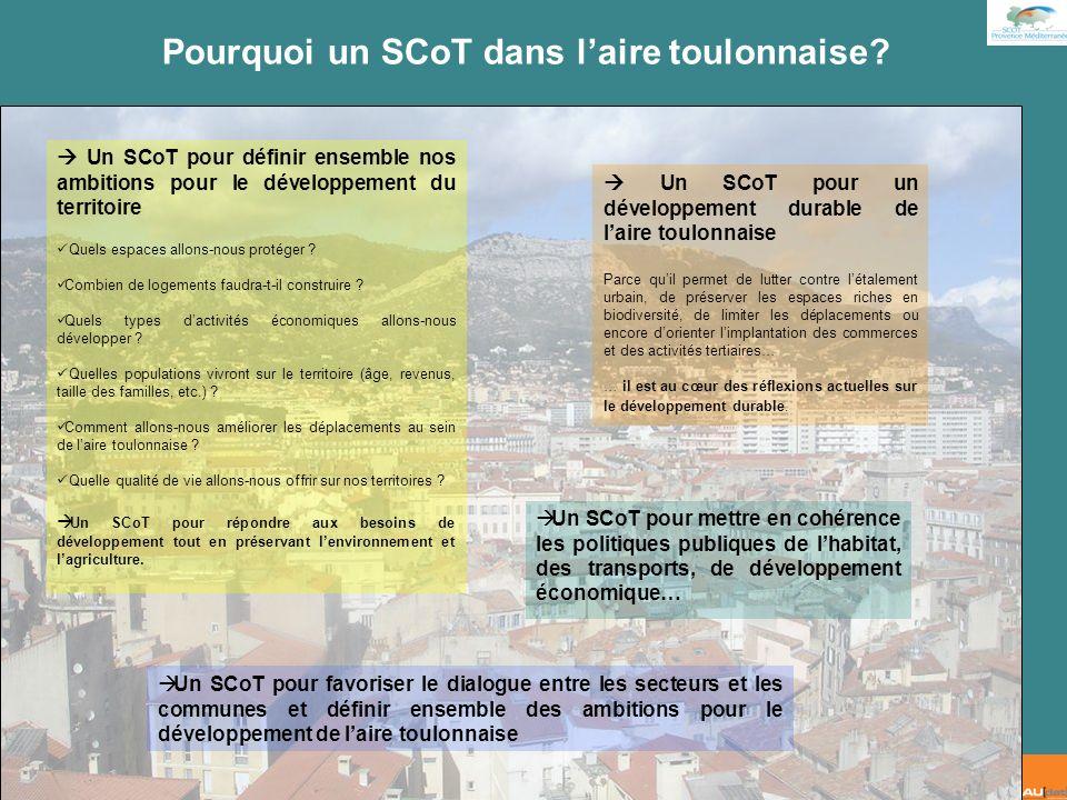 2 e forum citoyen - 7 juillet 2007 Les territoires du SCoT Provence Méditerranée