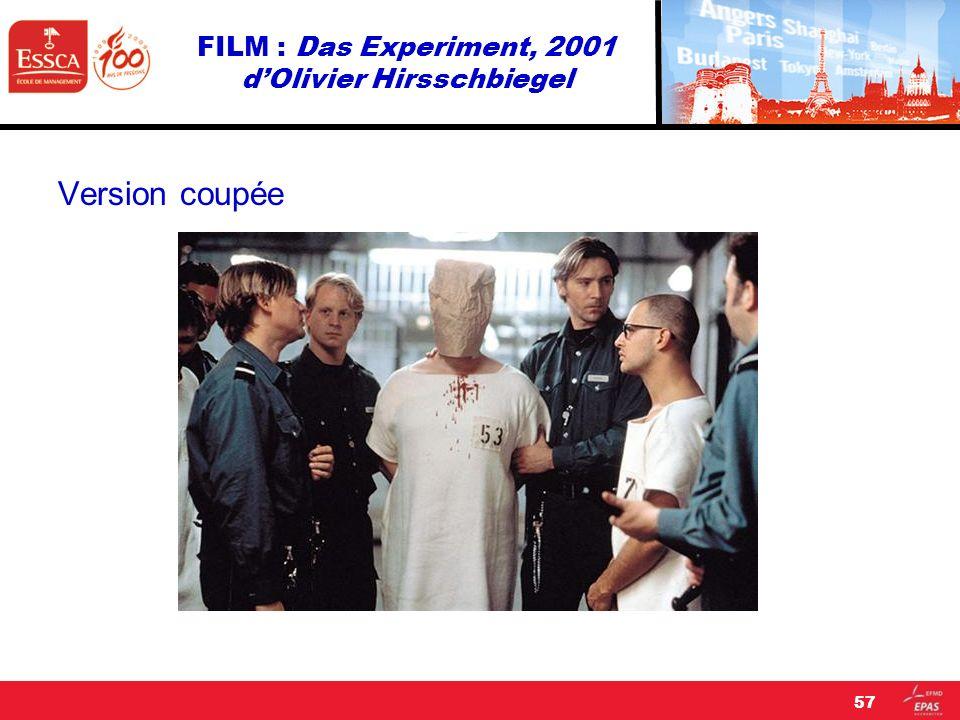 FILM : Das Experiment, 2001 dOlivier Hirsschbiegel Version coupée 57