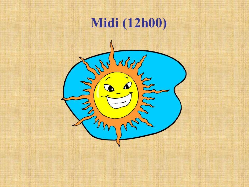 Midi (12h00)