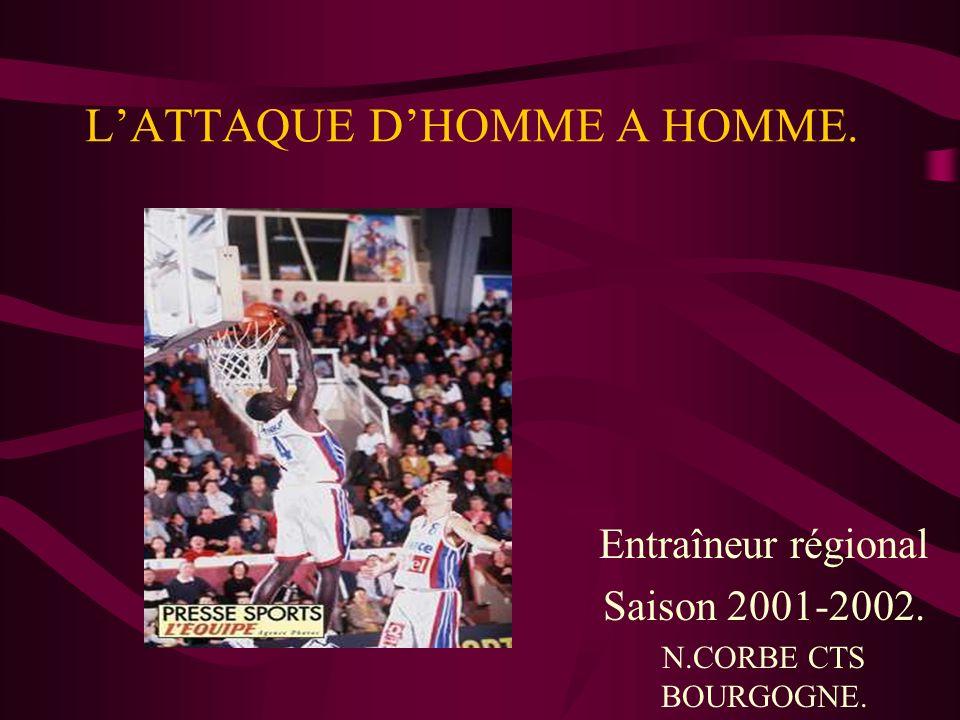 LATTAQUE DHOMME A HOMME. Entraîneur régional Saison 2001-2002. N.CORBE CTS BOURGOGNE.