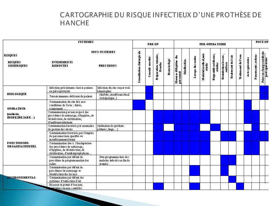 CARTOGRAPHIE DU RISQUE INFECTIEUX DUNE PROTHÈSE DE HANCHE 19
