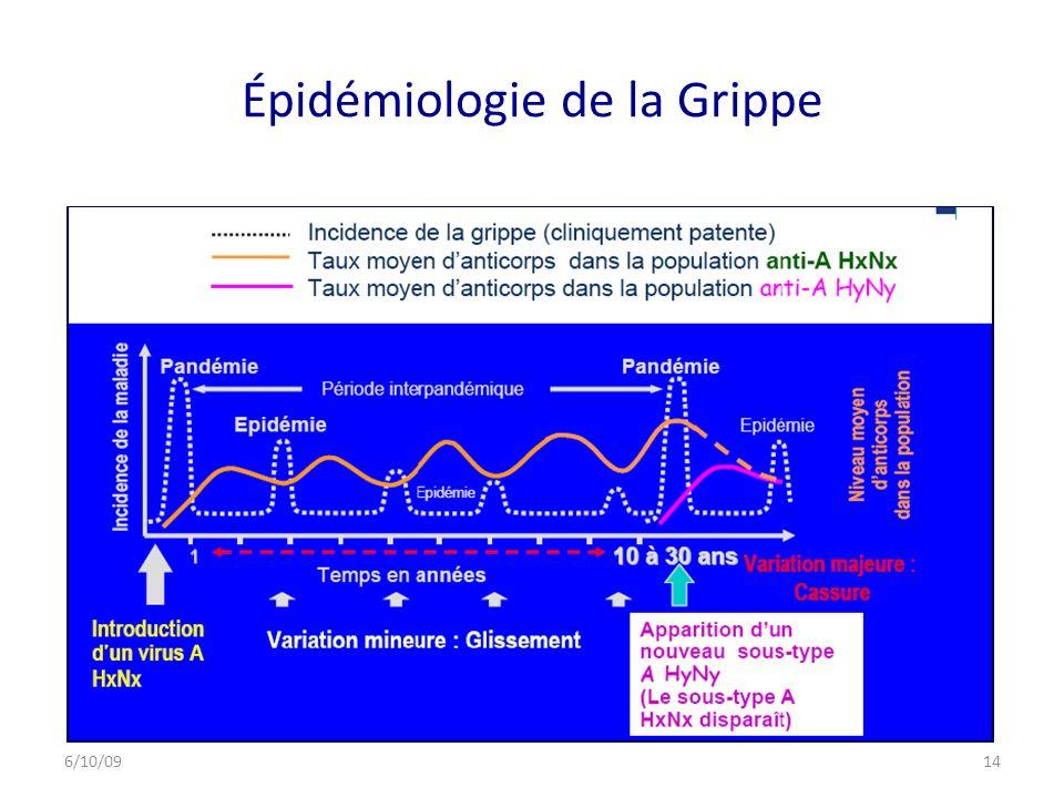 Épidémiologie de la Grippe 6/10/0914