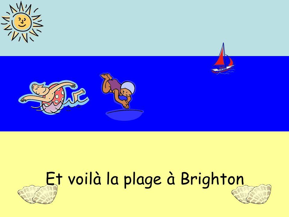 Et voilà la plage à Brighton