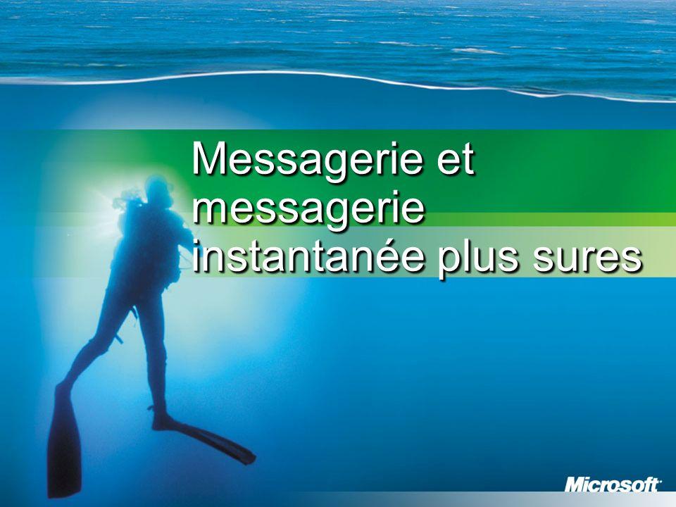 Messagerie et messagerie instantanée plus sures