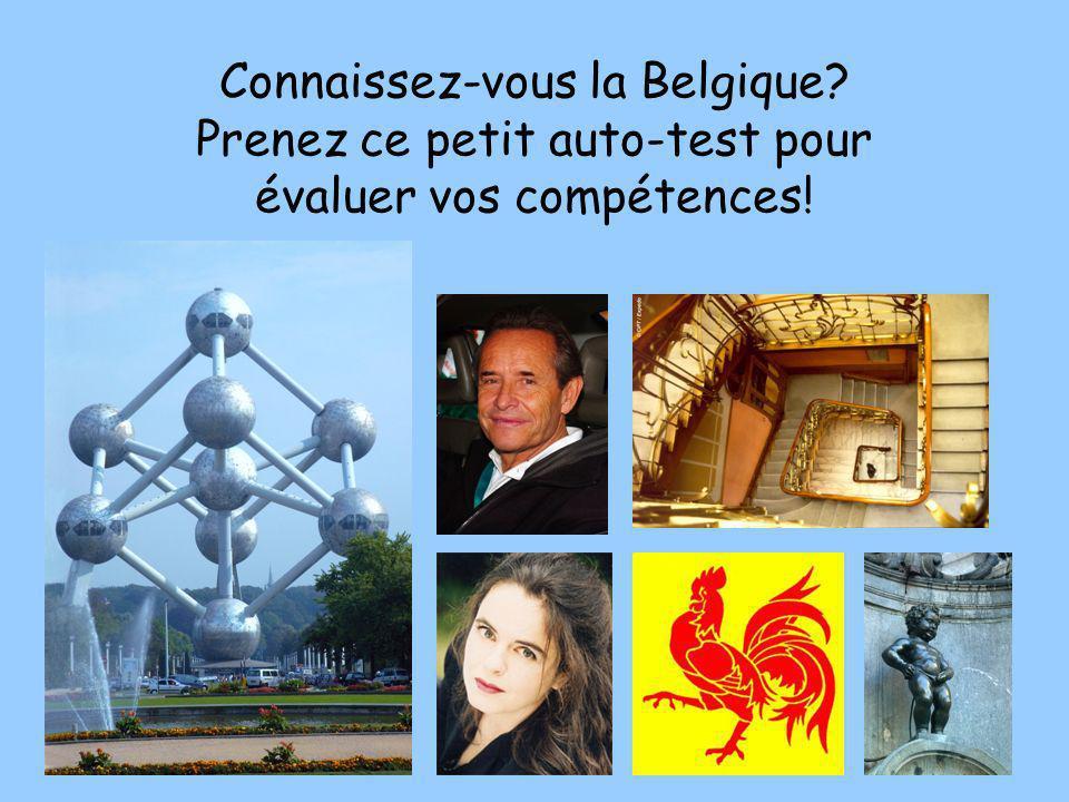 Connaissez-vous la Belgique? Prenez ce petit auto-test pour évaluer vos compétences!