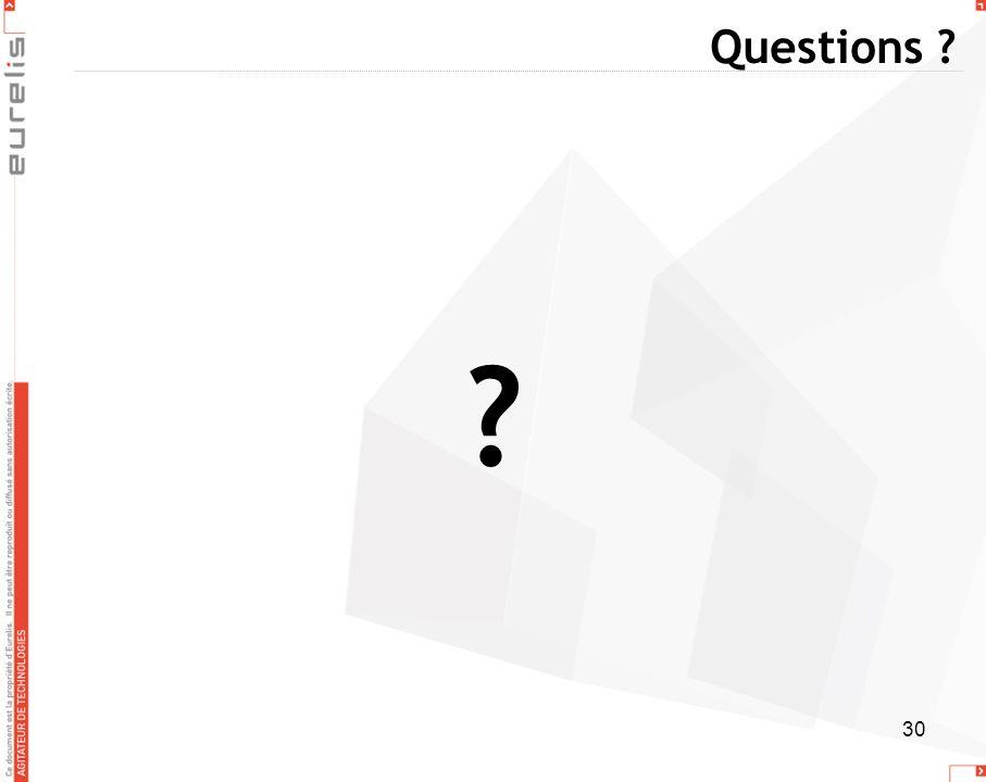 30 Questions ? ?
