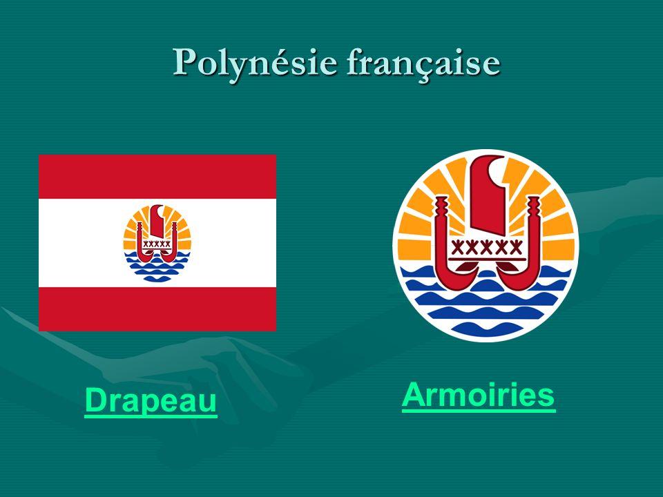 Polynésie française Polynésie française Drapeau Armoiries