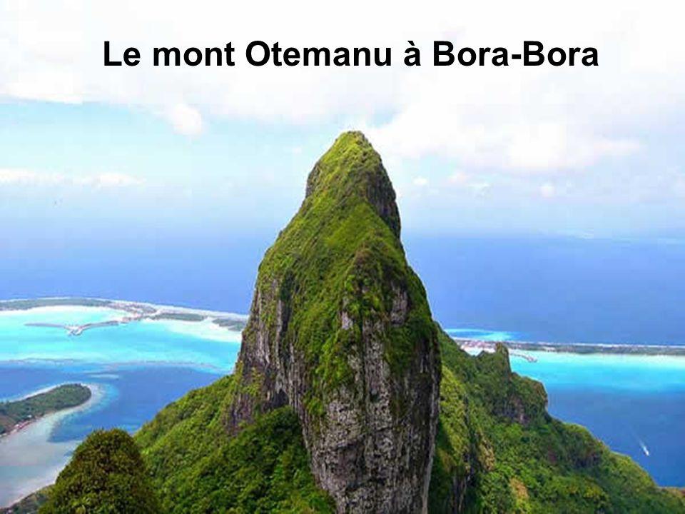 Le mont Otemanu à Bora-Bora
