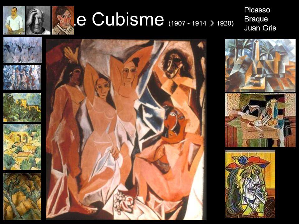 Le Cubisme (1907 - 1914 1920) Picasso Braque Juan Gris