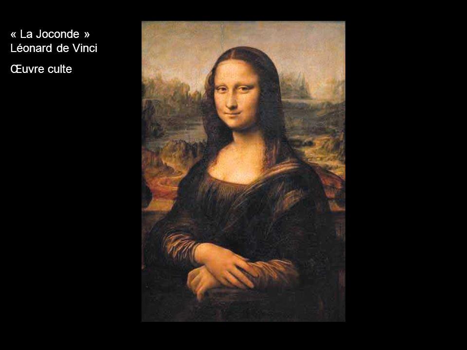 « La Joconde » Léonard de Vinci Œuvre culte
