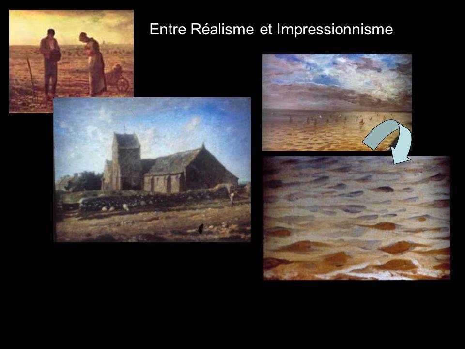 Entre Réalisme et Impressionnisme