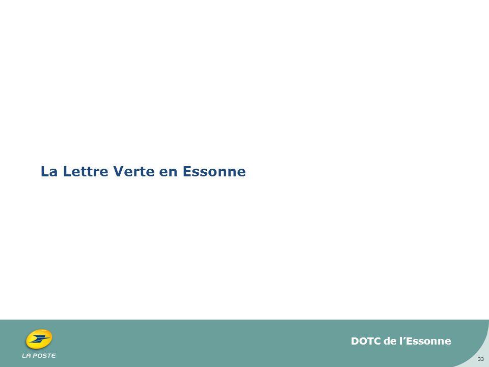 La Lettre Verte en Essonne 33 DOTC de lEssonne