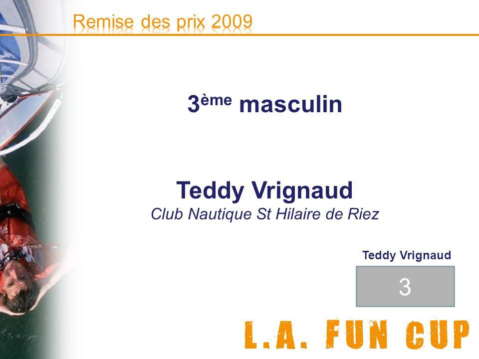 © e-doceo 3 ème masculin Teddy Vrignaud Club Nautique St Hilaire de Riez 3 Teddy Vrignaud