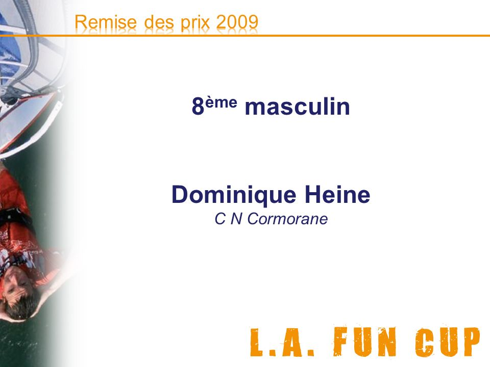 © e-doceo 8 ème masculin Dominique Heine C N Cormorane