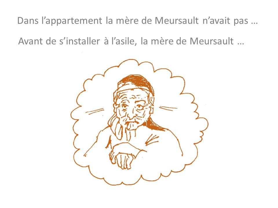 Dans lappartement la mère de Meursault navait pas … Avant de sinstaller à lasile, la mère de Meursault …