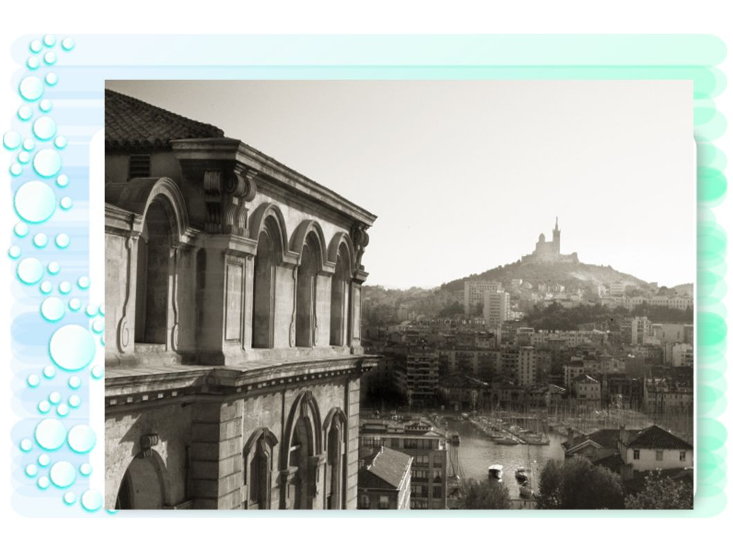 L arc de Triomphe à Marseille.