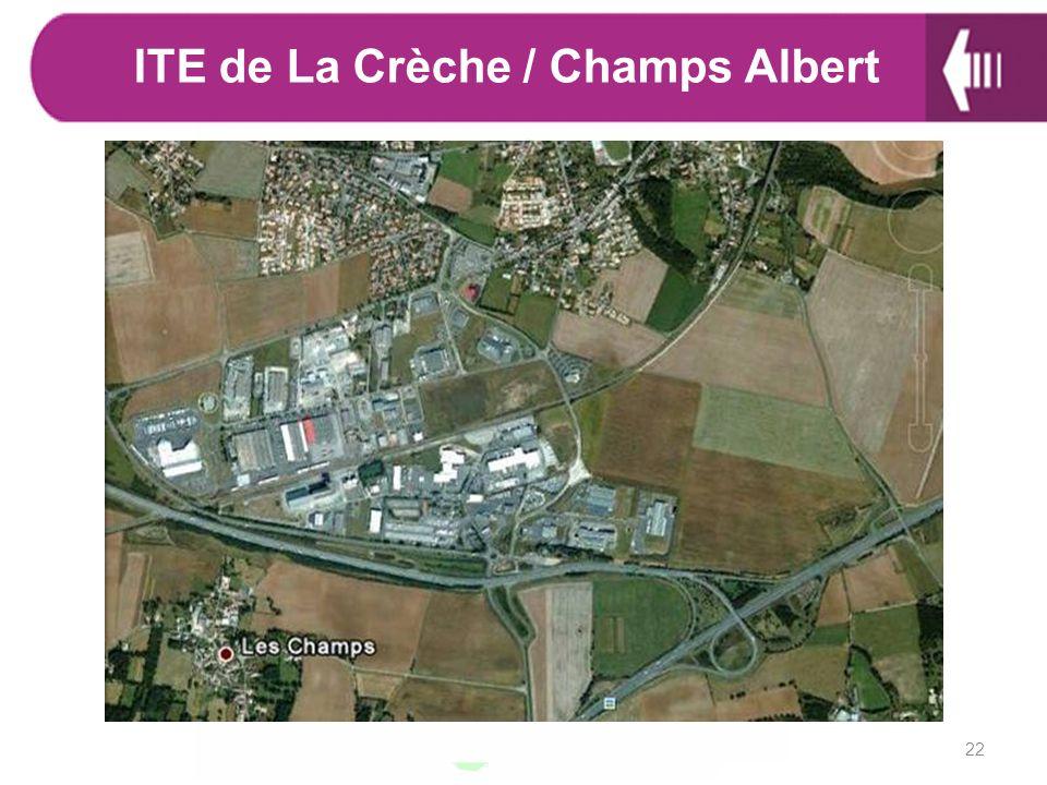22 ITE de La Crèche / Champs Albert
