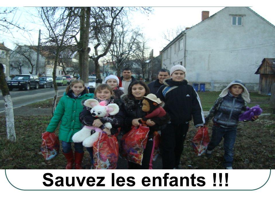 Sauvez les enfants !!!