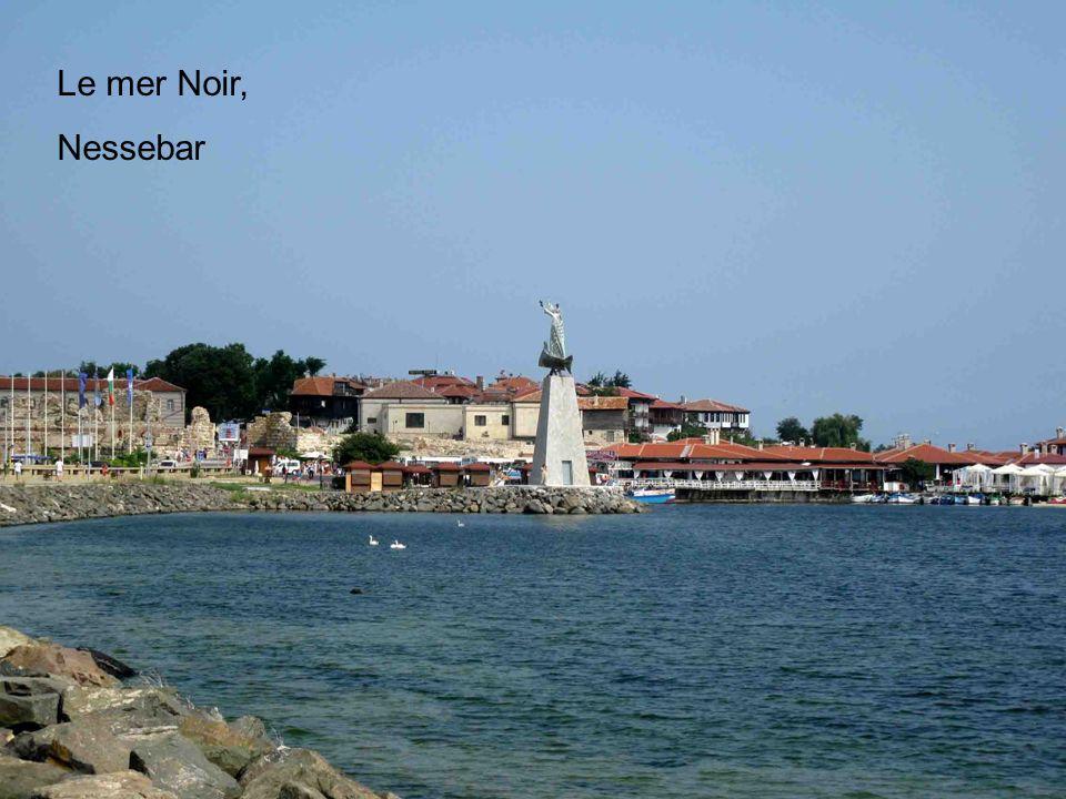 Le mer Noir, Nessebar