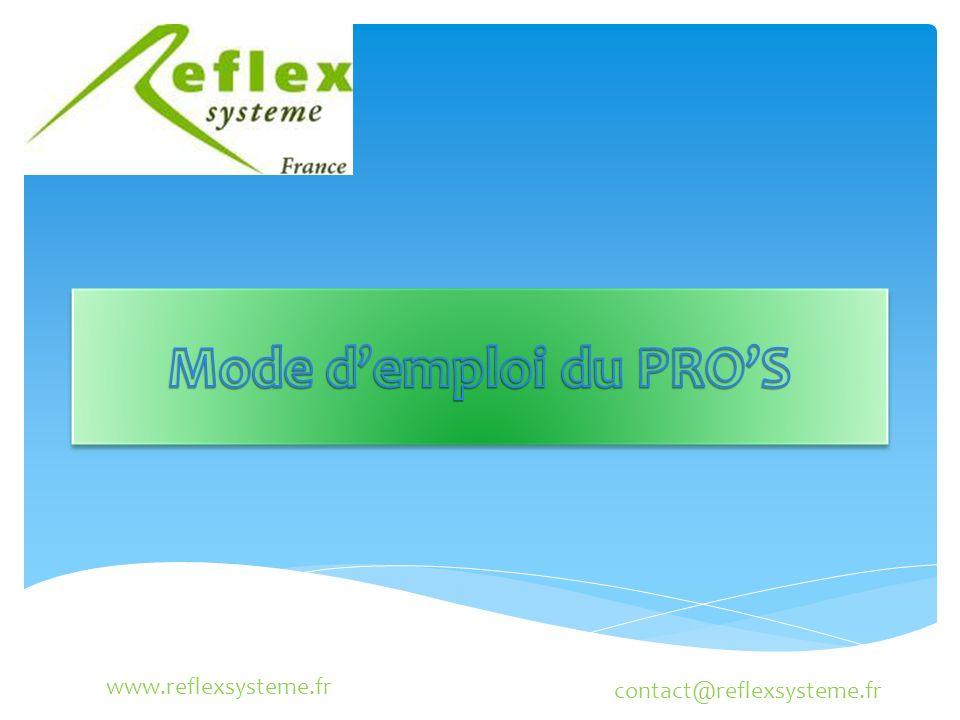 www.reflexsysteme.fr contact@reflexsysteme.fr