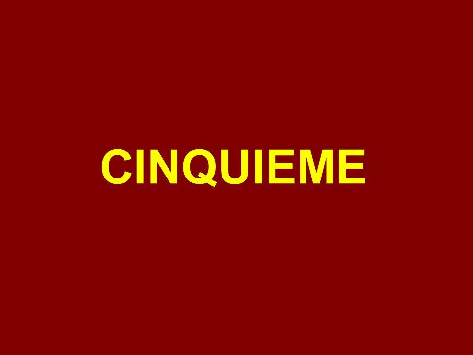 CINQUIEME