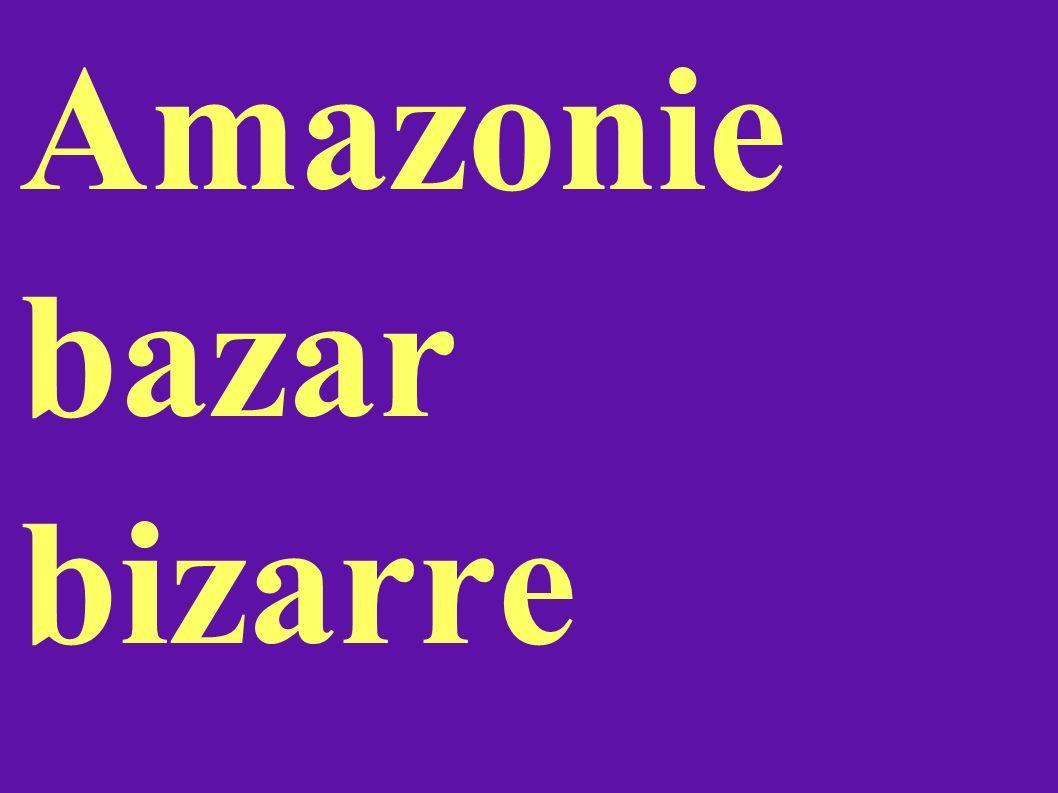 Amazonie bazar bizarre