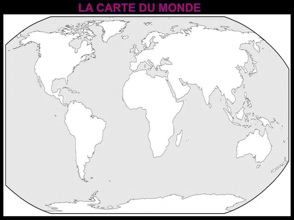 Pour se repérer sur la Terre, les Hommes ont quadrillé la Terre de lignes imaginaires: La première ligne divise la Terre en deux hémisphères: cest léquateur..