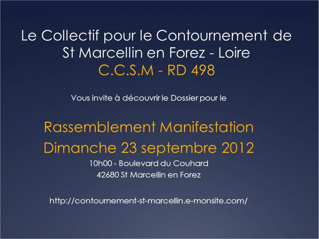 Quelques dates clés 1974 > Le Sénateur de la Loire et Conseiller Général Louis MARTIN, valide le projet de déviation de St Marcellin en Forez.
