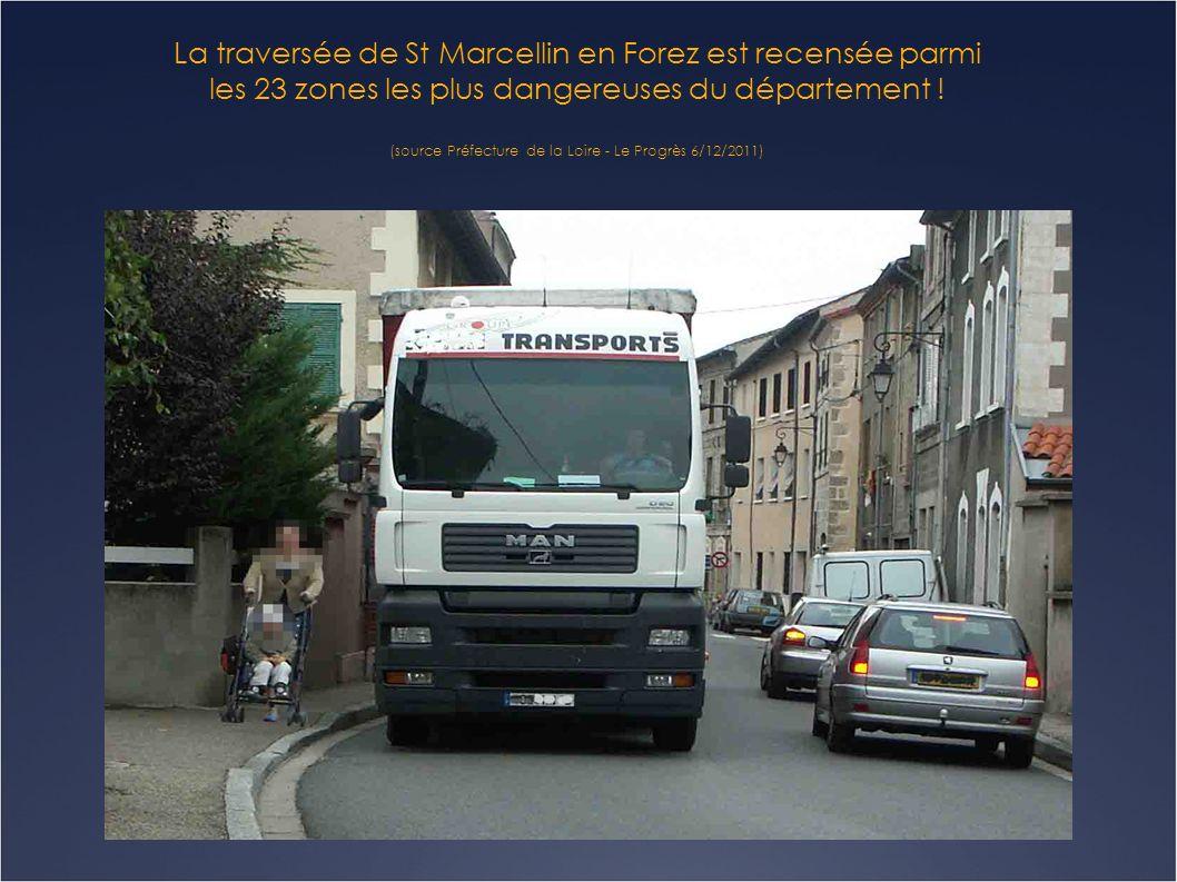 Le chassé croisé des camions va encore s intensifier avec louverture de la ZAC des Plaines à Bonson prévue fin 2012.