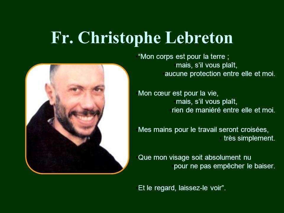Fr.Luc Dochier Quest-ce qui peut nous arriver .