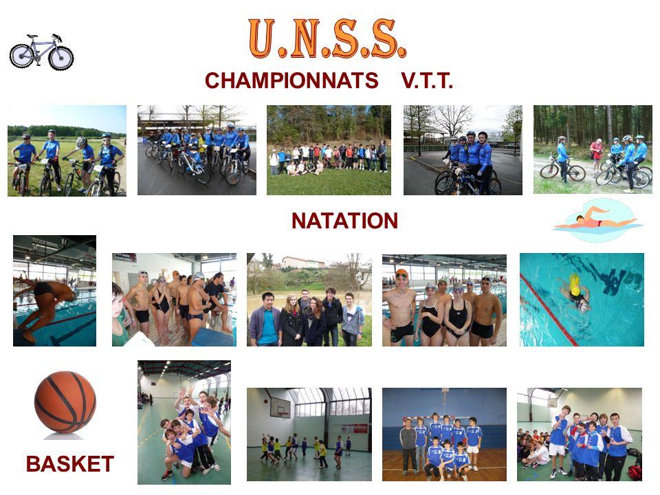 CHAMPIONNATS V.T.T. NATATION BASKET