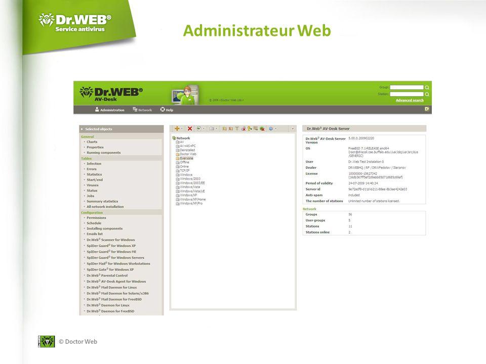 Administrateur Web