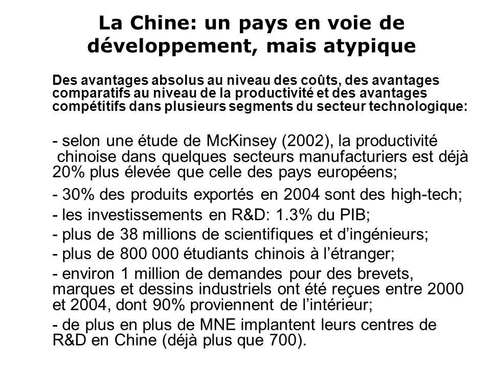 La Chine: un lab mondial .