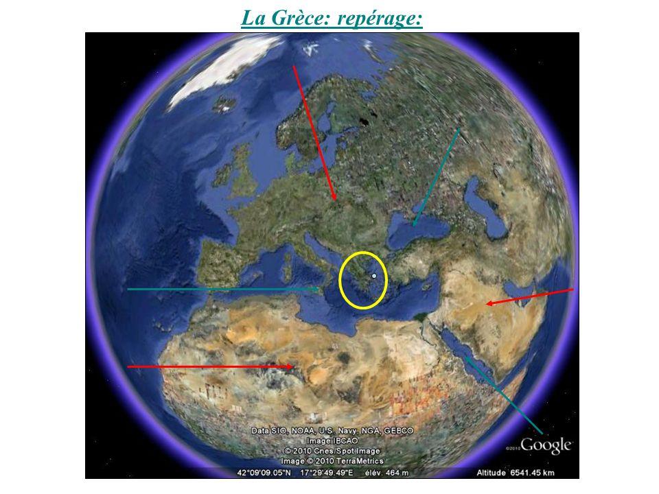 Le monde grec entre le IX e siècle et le VI e siècle avant J.-C.: Cités et colonisation: Mer méditerranée Mer noire Mer rouge Mer Égée