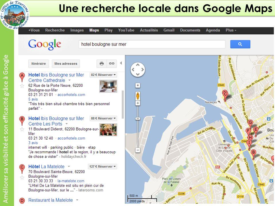 Google + Local dans Google Maps Améliorer sa visibilité et son efficacité grâce à Google