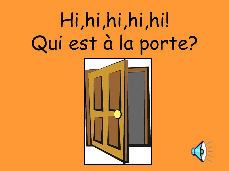 Hou,hou,hou! Cest Monsieur Hibou.