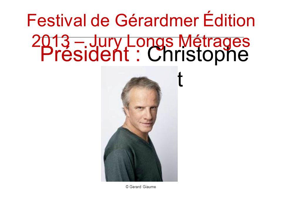 Président : Christophe Lambert © Gerard Giaume Festival de Gérardmer Édition 2013 – Jury Longs Métrages