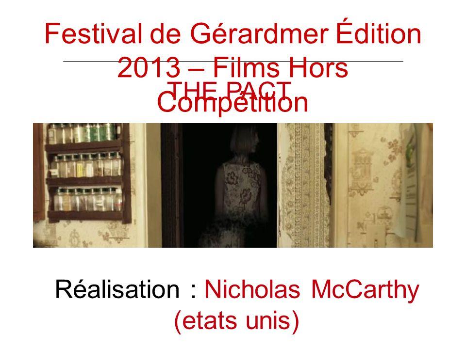 THE PACT Réalisation : Nicholas McCarthy (etats unis) Festival de Gérardmer Édition 2013 – Films Hors Compétition