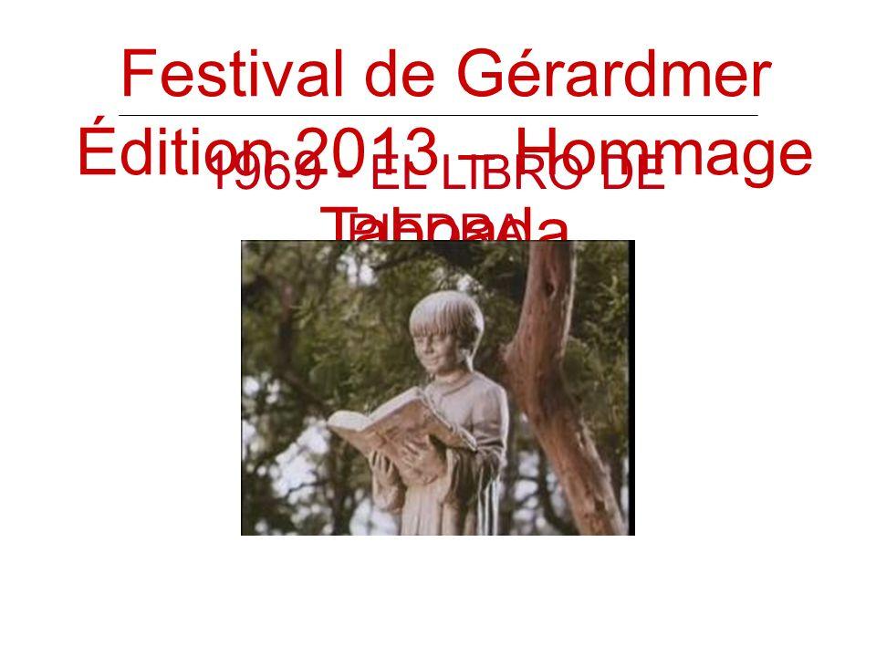 Festival de Gérardmer Édition 2013 – Hommage Taboada 1969 - EL LIBRO DE PIEDRA