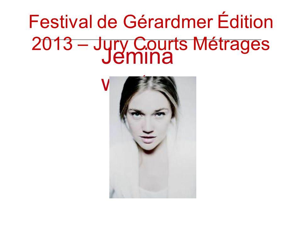 Jemina west Festival de Gérardmer Édition 2013 – Jury Courts Métrages