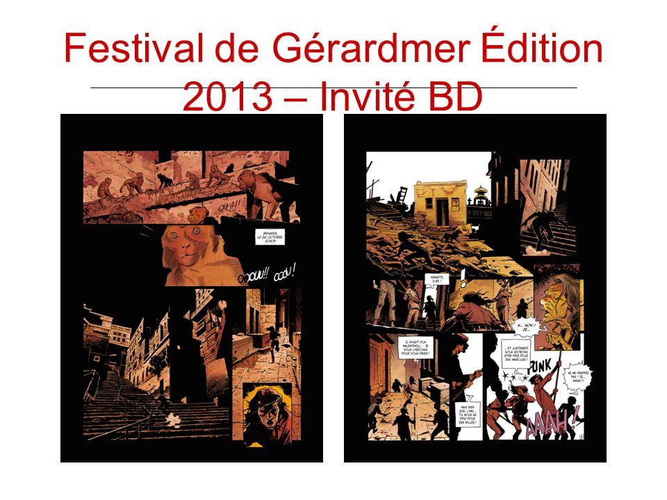 Festival de Gérardmer Édition 2013 – Invité BD