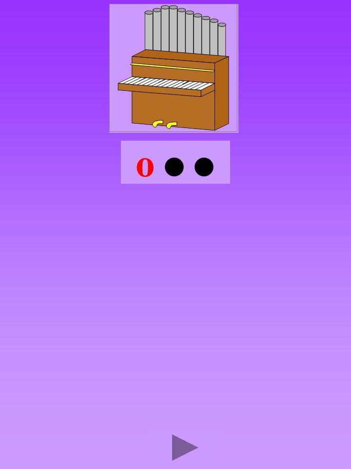 orgue3 Quel son-voyelle ? o Dans quel ordre ?