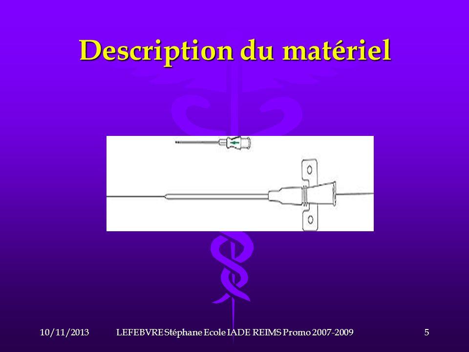 Description du matériel 2-Le système de purge.